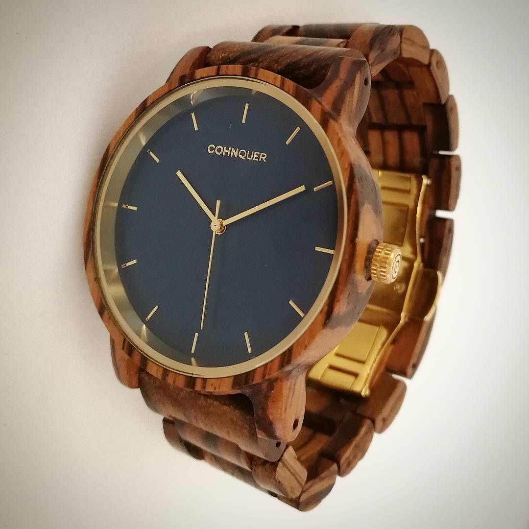 Un Reloj de Madera para dominarlos a todos!  https://www.cohnquer.com/tienda/relojes-madera-pulsera/dreamer-ocean-zebrawood/ #SoyCohnquer #moda #reloj #relojdemadera #relojes #madera #wood #dreamer #dream