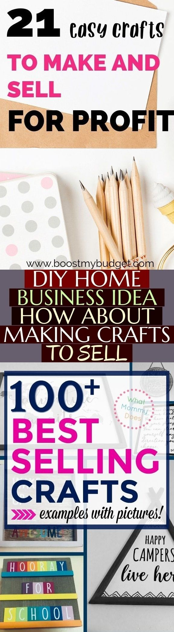 Diy Home Business Idea How About Making Crafts To Sell