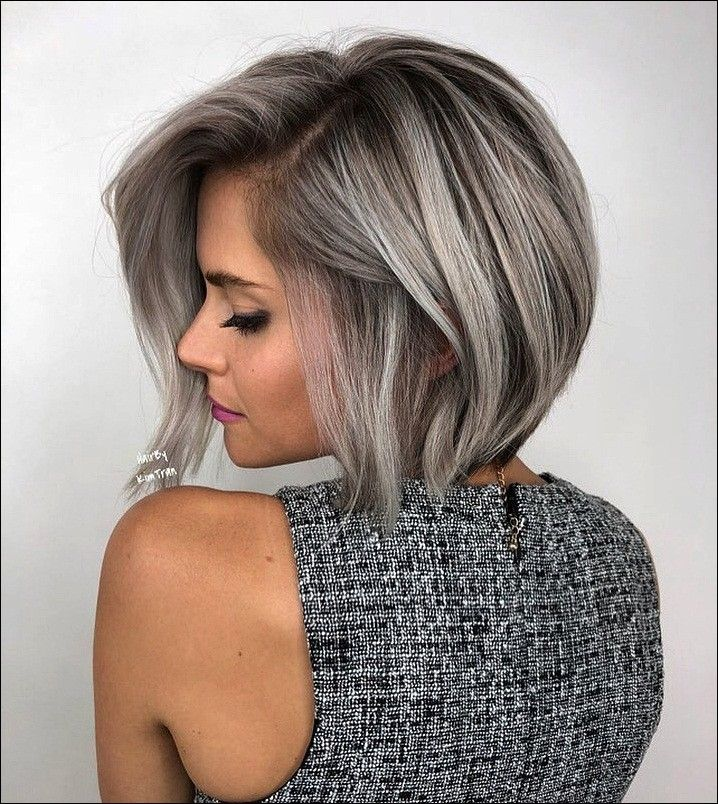 20 attractive hairstyles for a special night! | Trend bob hairstyles 2019