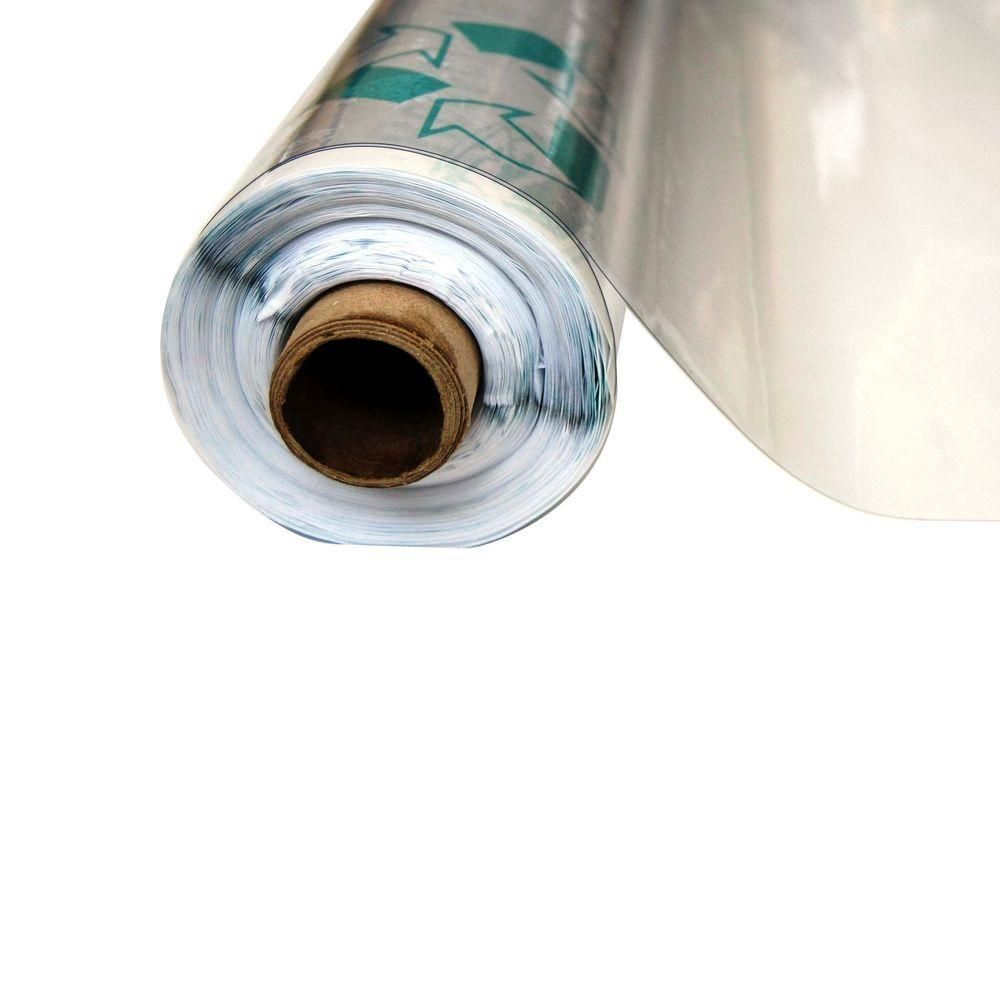 Vinyl It 4 1 2 Ft X 75 Ft Clear 12 Mil Plastic Sheeting 10012 Plastic Sheets Plastic Vinyl