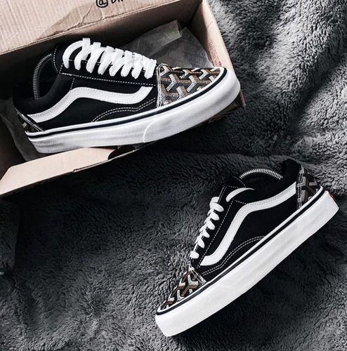 ab904c7885d 17FW Vans Old Skool X Goyard luxury vintage sneaker20  Vans