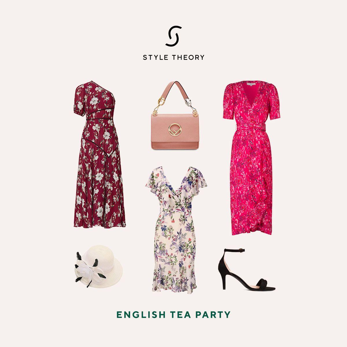 English Tea Party Rent Dresses Weekend Style Dress Rental