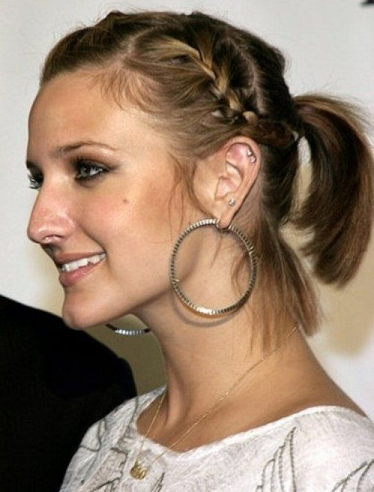 Homecoming Hairstyles For Short Hair Homecoming Pigtail Hairstyles - Hairstyles for short hair homecoming