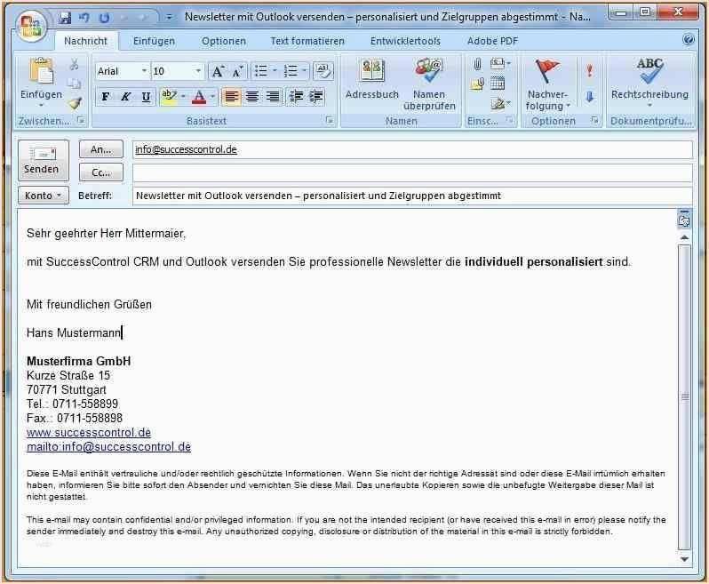 Bewerbung Per E Mail Einstieg 1