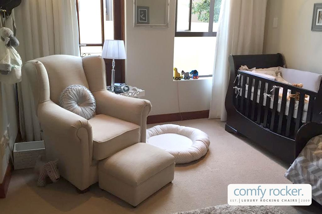 Comfy Rocker Luxury Nursery Rocking Chair Designed By A Mum Who Is Pionate About Creating