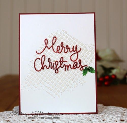 Penny Ward INK: Simple Christmas