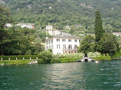 Myhomesullago Laglio Villa Oleandra Di George Clooney
