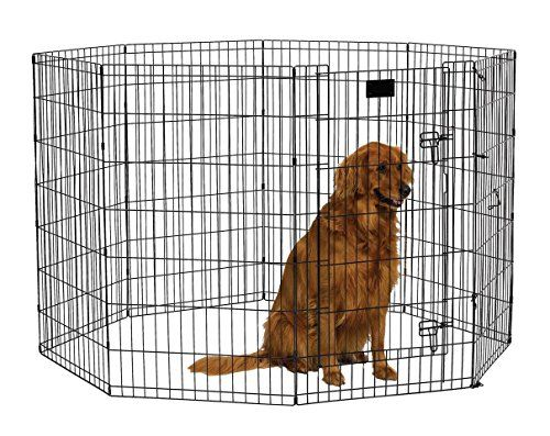 Dog Playpens MidWest Foldable Metal Exercise Pen Pet