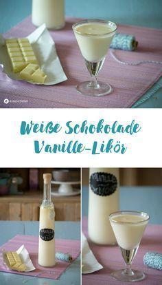 Photo of White chocolate vanilla liqueur – creative fever