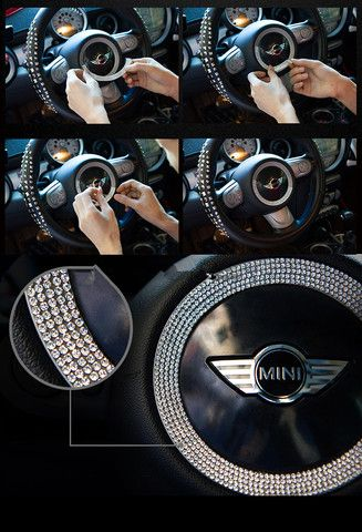 Bling My Car Up With Diamonds Girly Car Accessories Vehicle - Custom car bling decals