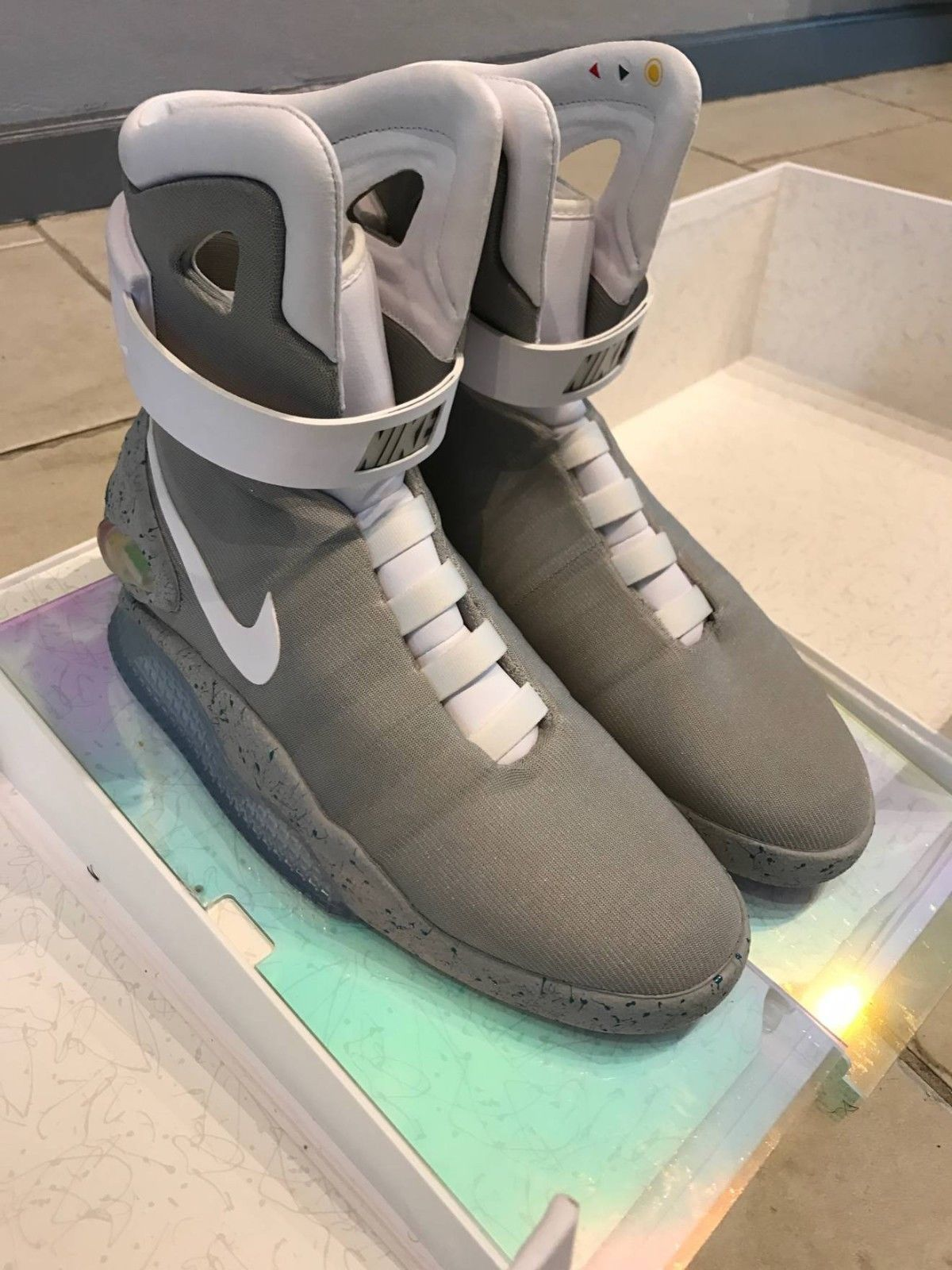 BRAND NEW NIKE AIR MAGS BACK TO THE FUTURE EXTREMELY