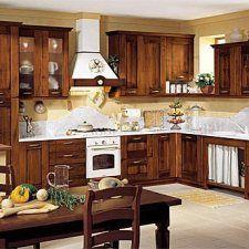 Elegante Diseno De Cocina Rustica Decoracion Del Hogar Pinterest - Como-disear-una-cocina-rustica