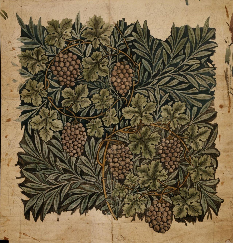 """cairparavel """"William Morris, vine pattern, 1873"""