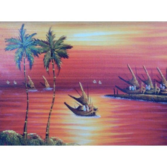 56 Lukisan Dinding Pemandangan Laut Gratis Terbaik