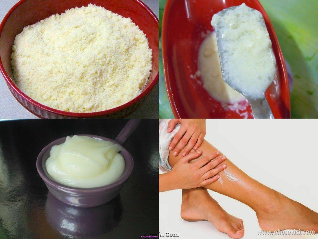 عالم الطبخ والجمال وصفة الحليب لمنع نمو الشعر بعد إزالته من مناطق حساسة الابد