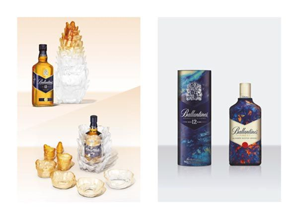 Ballantine's by Leif Podhajsky #whisky #packaging #art #gastronomie #luxe