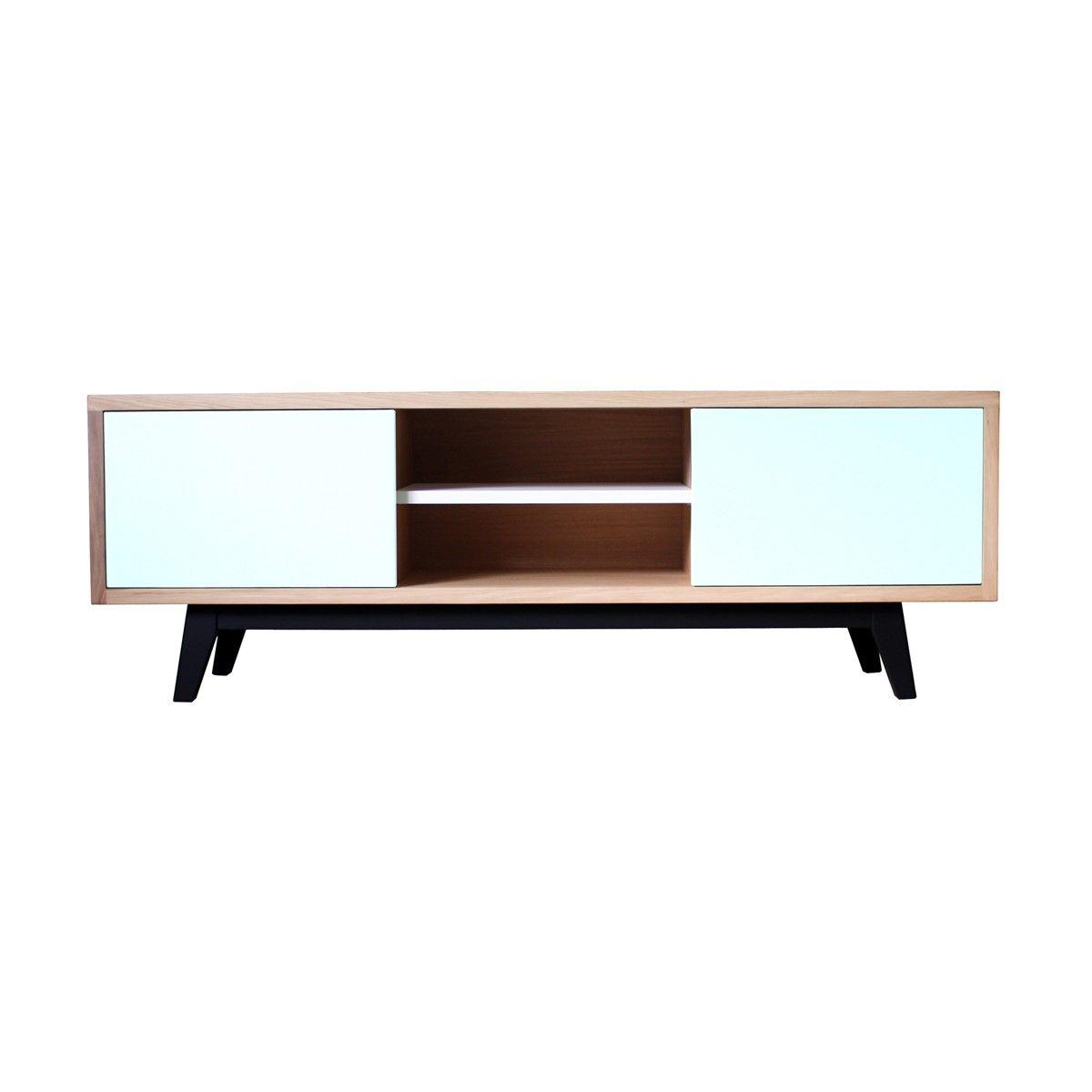 design et fabrication 100 franais httpwwwitinerairebiseup 2854 buffet tv vintage chene massif blanchi et laquehtml