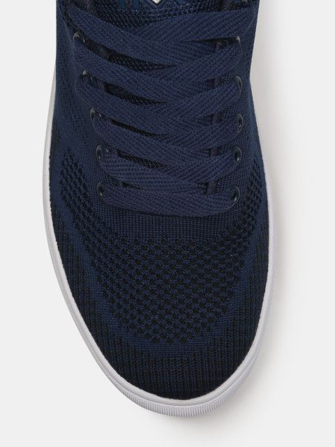 3bb61c862 Buy HRX By Hrithik Roshan Men Navy Blue Sneakers - Casual Shoes for ...