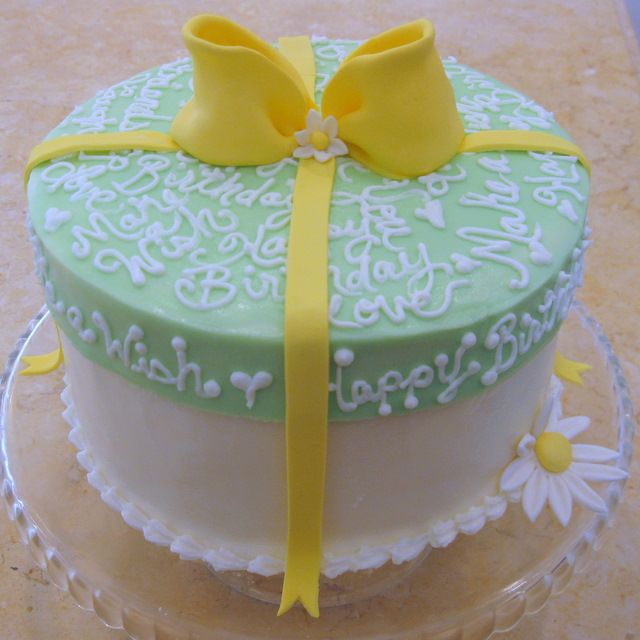 Buttercream Frosted Cake Box~ Cake Decorating Video #cakedecoratingvideos