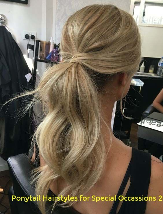 98 Inspirational Ponytail Hairstyles for Special Occassions 2020