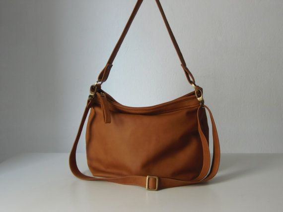 Leather Hobo Purse Women Bag Tan Handbag Medium Size On Etsy 188 41 Cad