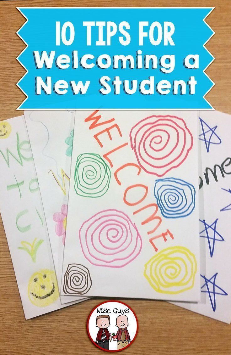 10 Tips for Welcoming a New Student | Education (Drama, ELA