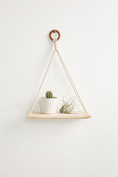Elie Macram Hanging Shelf Home Decor Online Cheap