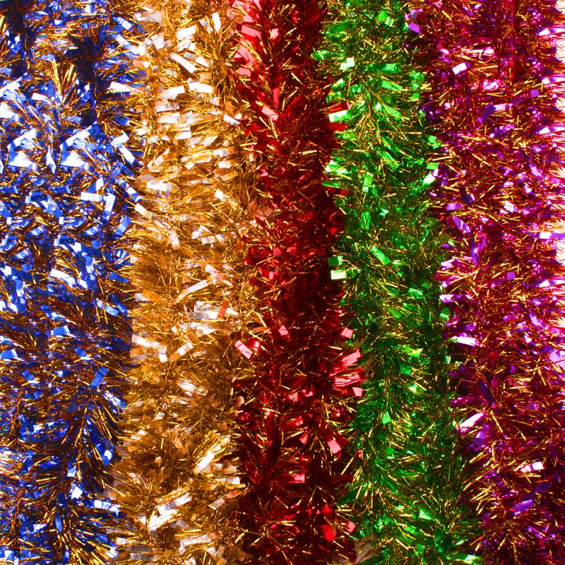 200cmx9cm Multicolored Christmas Ribbons Birthday New Year\u0027s eve