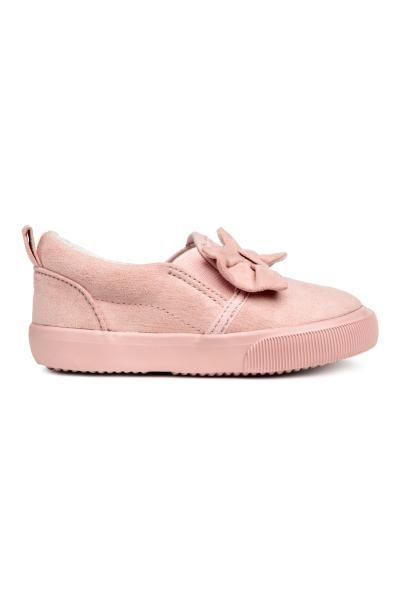 Wsuwane Buty Sportowe Pudroworozowy Dziecko H M Pl Fashion H M Online Fashion Online