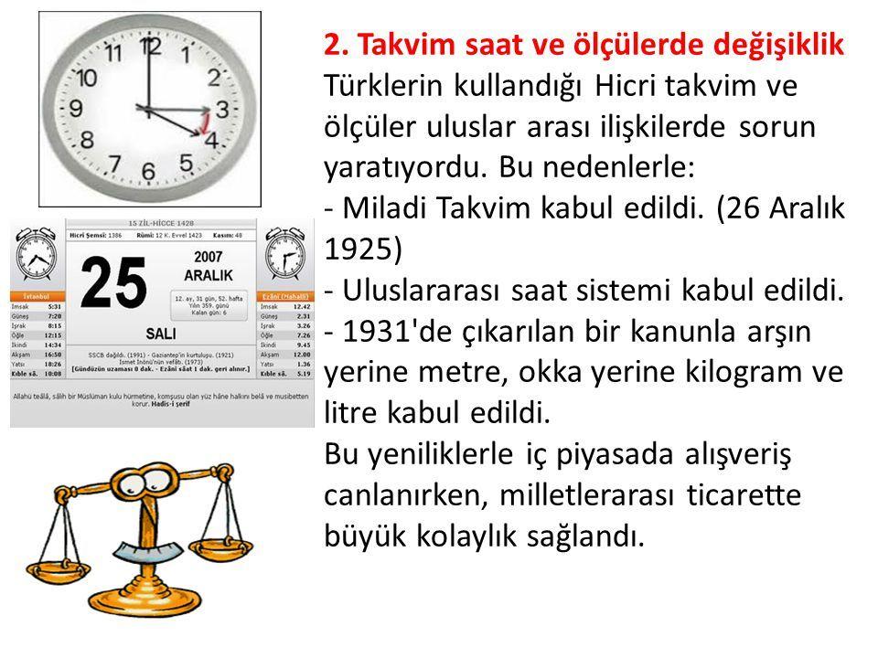 26 12 1925 - Uluslararası saat ve takvim'in kullanımı TBMM