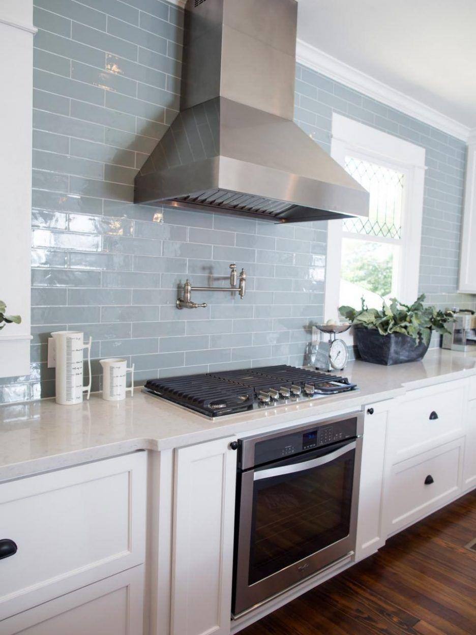 Kitchen Backsplash Trends 2018 Dark Blue Subway Tile Cobalt Blue ...