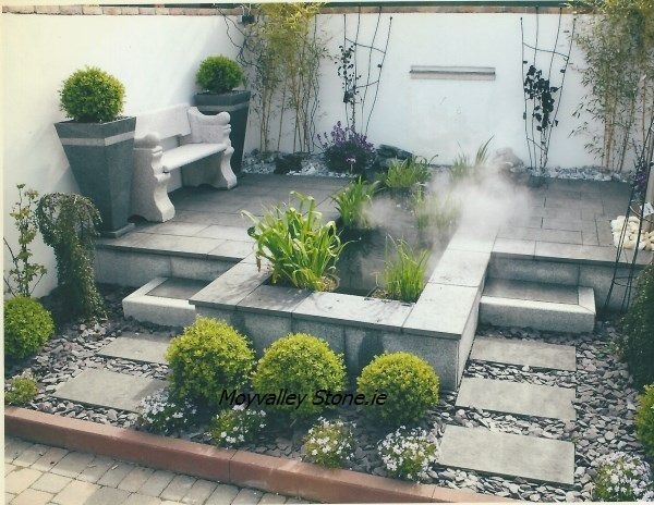 Contemporary Garden @ Moyvalley Stone, Co. Kildare. Www.mvstone.ie