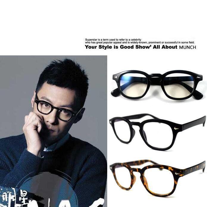 a4e5bbecd6 Brand+Johnny+Depp+Glasses+Men+Women+Retro+Vintage+Optical+Eyeglasses+Myopic+ Glasses+Frame+High