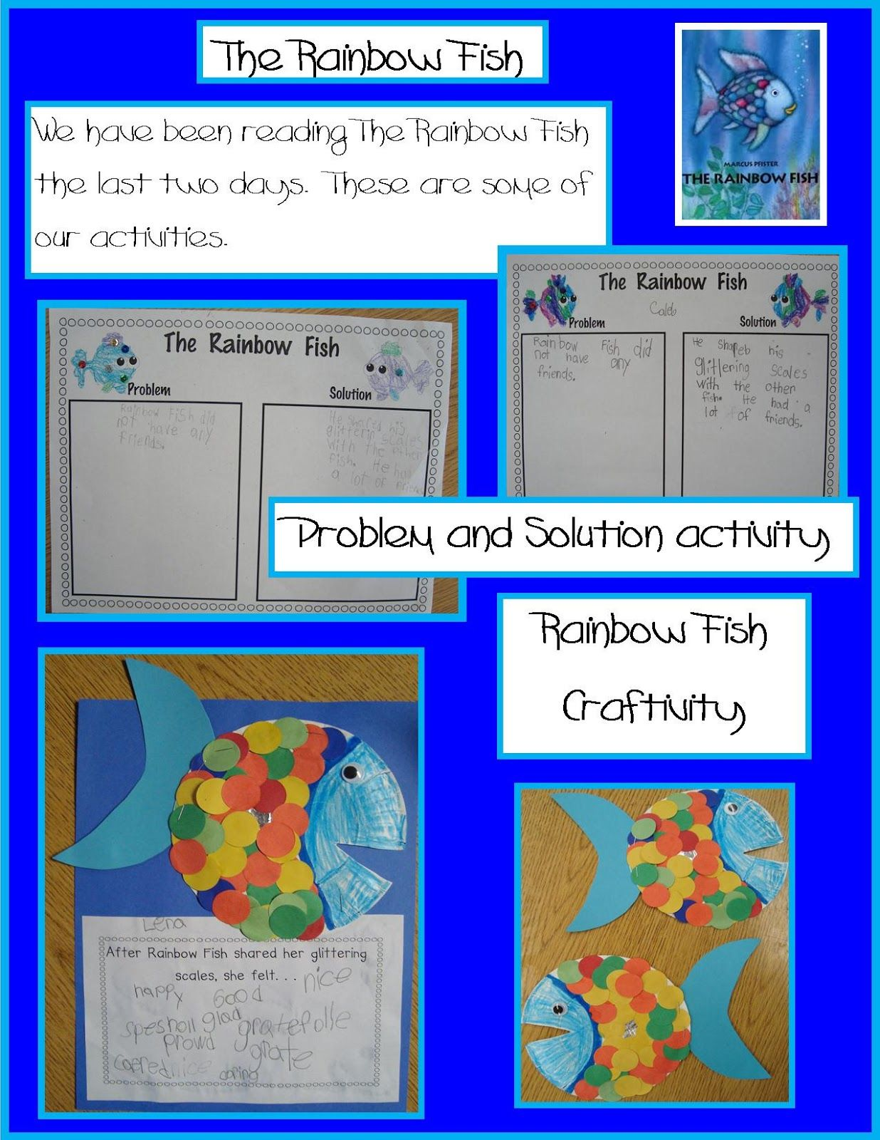 Golden Gang Kindergarten Rainbow Fish