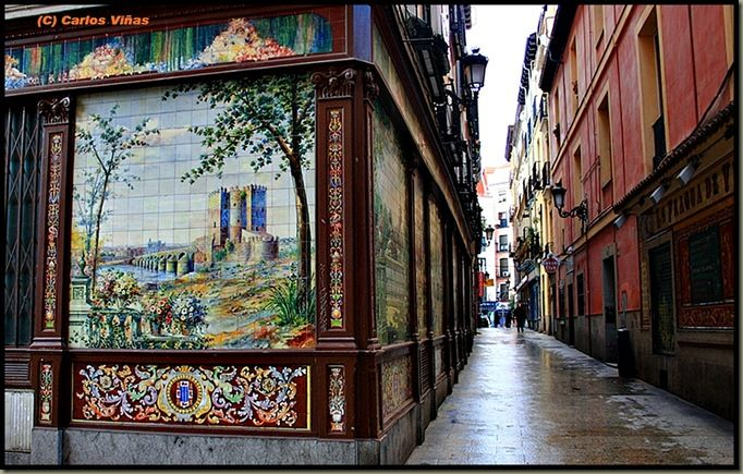 Madridlaciudad Los Espejos Concavos Y Convexos El Esperpento Y El Callejon Del Gato Madrid Beautiful World