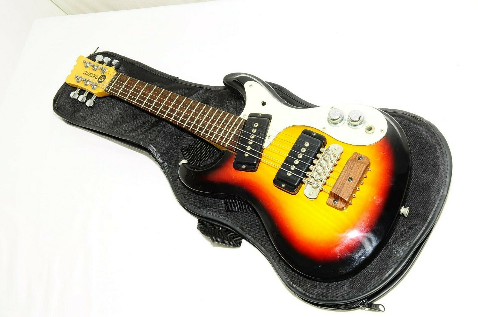 Mosrite Mini Travel Guitar Sunburst Electric Guitar Ref No 2199 Ebay Electric Guitar Guitar Japanese Guitar
