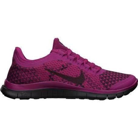 Womens Nike Free 3.0 v5 PRM Running Shoe - PinkBlack