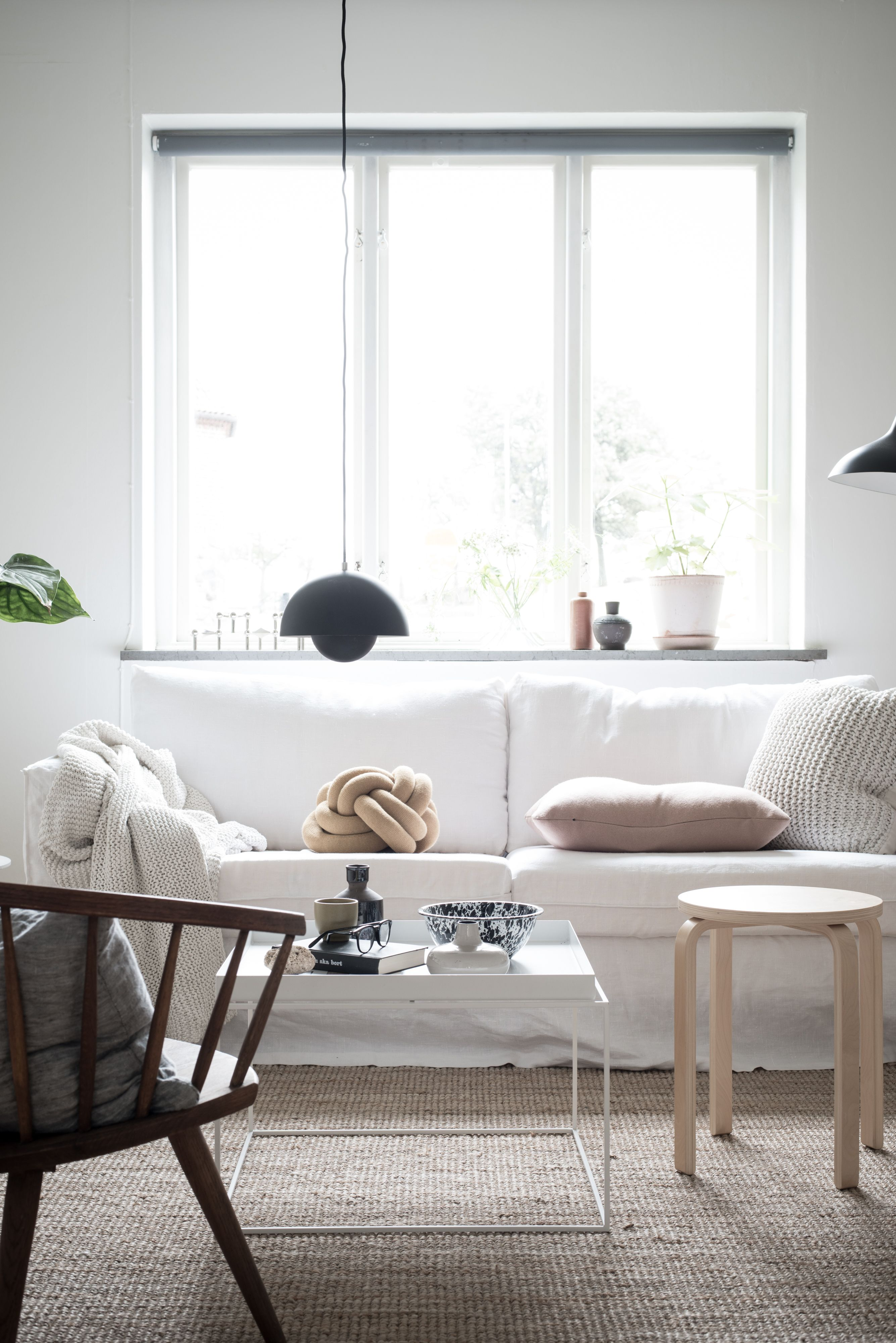 Karlstad, 3 Seater sofa cover Loose Fit Urban | Living room white ...