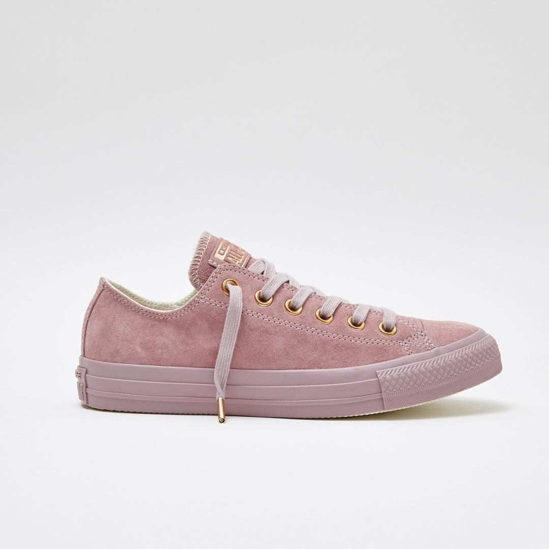 Meet our new Exclusive  Converse All Star Lo s in lilac suede with rose  gold details - now online   in store. Search for  Lilac Converse  in the  search bar ... 5ea6fdd4d