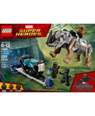 Marvel Rhino Face-Off by the Mine Lego Black Panther 76099