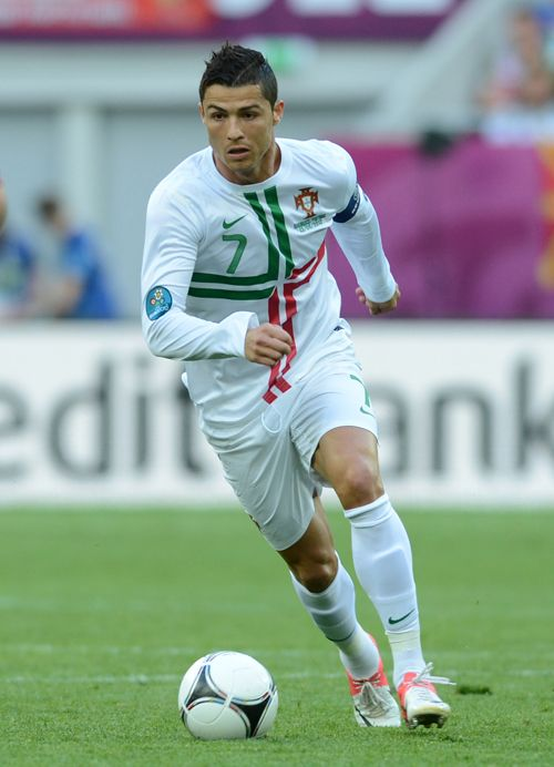 CR from European Football Championship. Look at the jersey. It has sponsors on it but it still looks stylish and fresh on CR.