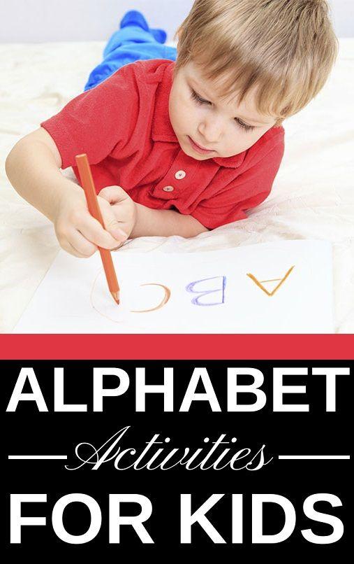 15 Interesting Alphabet Activities For Toddlers Preschoolers Abc