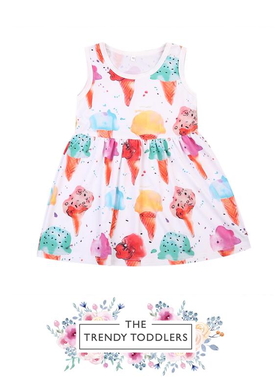 03f475c34821e Ice Cream Dress | Dress For Your Little Princess | Toddler girl ...