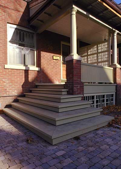 Front Porch Wrap Around Steps Front Porch Pinterest