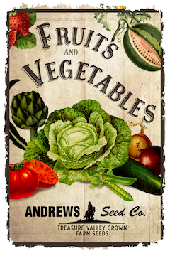 Andrews Seed Company Your Treasure Valley Resource For Seed And Plants Farm Seed Seeds Plants