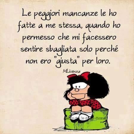 Mafalda #aforismi   Frasi motivazionali, Pensieri positivi, Riflessioni