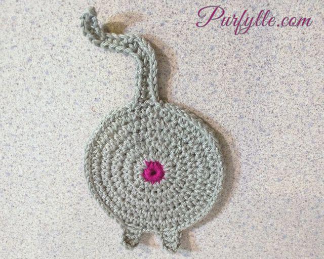 Fat Kitty-cat with feet | Crochet Cat Coaster | crochet doilies ...