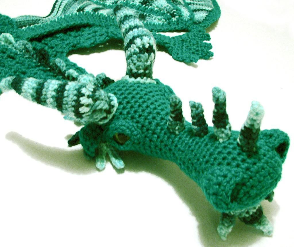 Green dragon scarf project on craftsy crochet pinterest green dragon scarf project on craftsy bankloansurffo Choice Image