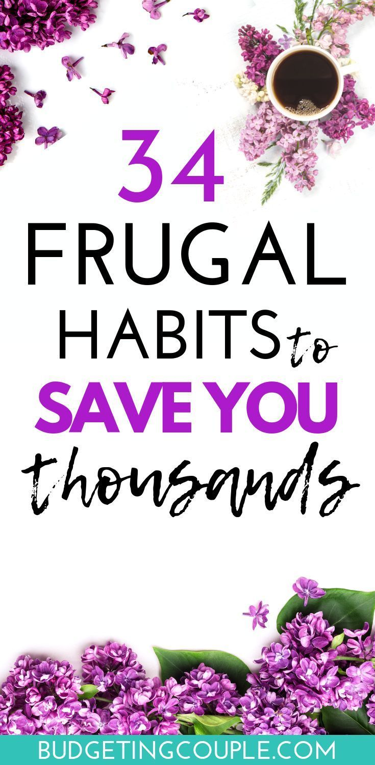 Frugal Living Guide: 34 Tips to Live Frugally *While* Enjoying Life #startsavingmoney