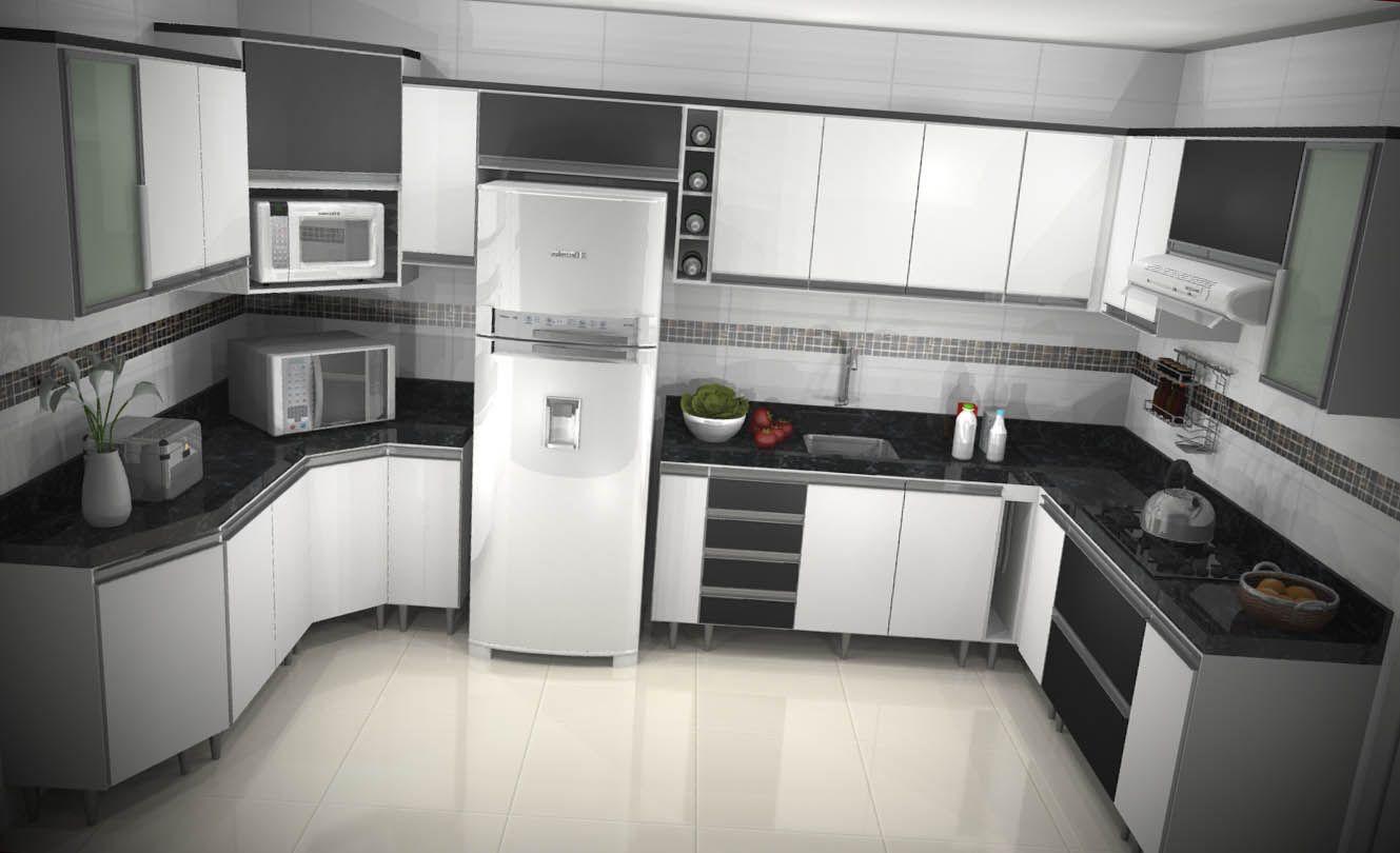 12 arm rios de cozinha planejado armario de cozinha - Modelos de armarios ...